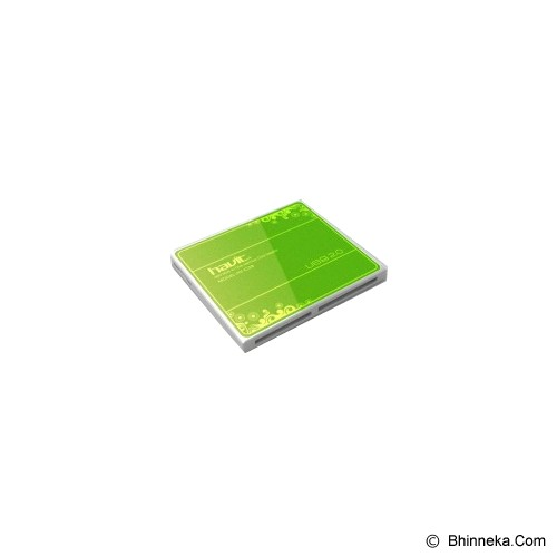 HAVIT All In 1 Card Reader [HV-C28] - Green - Memory Card Reader External